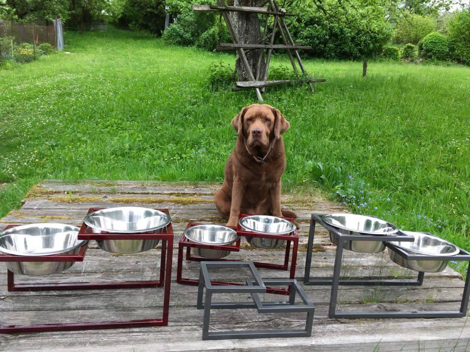 Stojánek na misky pro psy