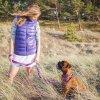 Přepínací vodítko na psa Shine in Purple