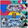 kolekce pelisku pro psy BedPet geometric