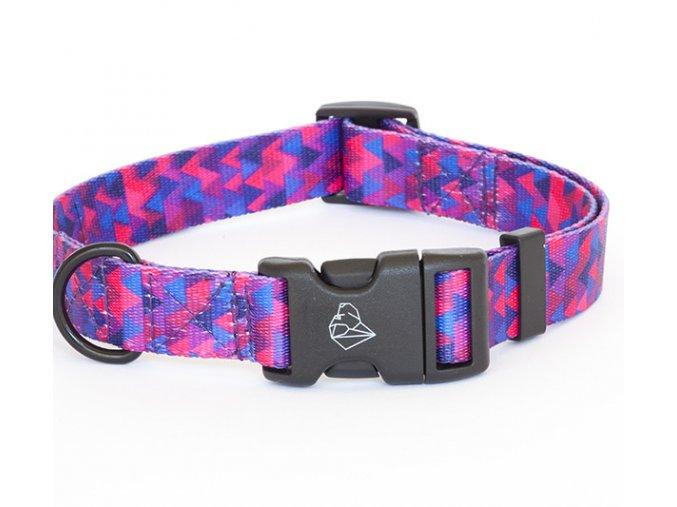 Obojek pro psa Shine in Purple