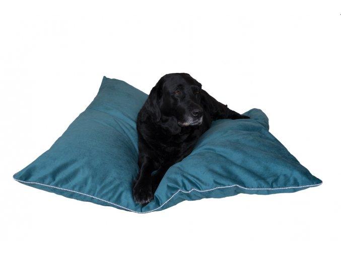 Luxusní matrace pro psa Cleo - petrolejová