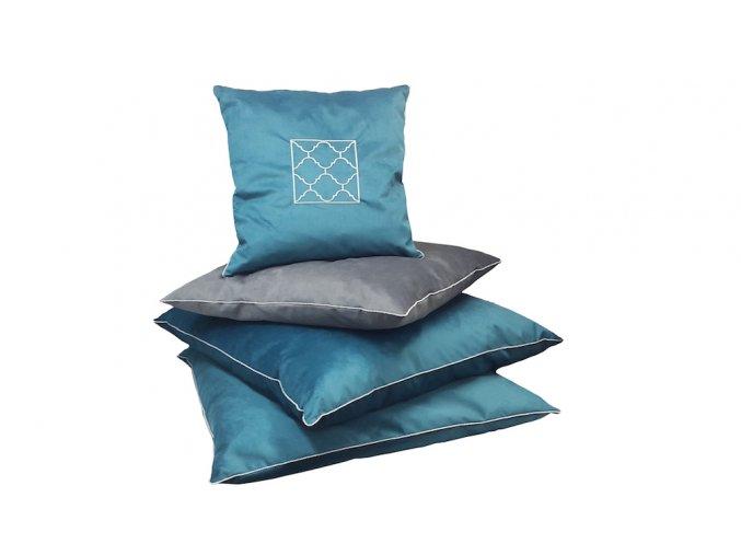 Luxusní matrace pro psa Cleo - šedá