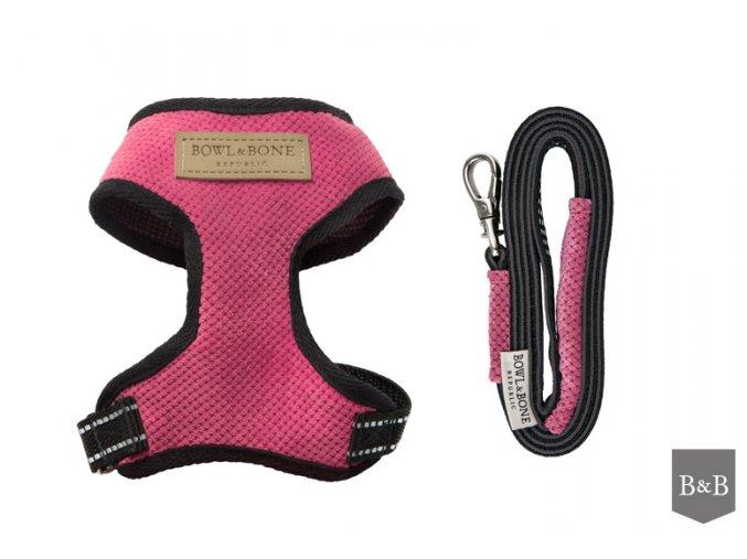 Postroj na psa Candy - Pink
