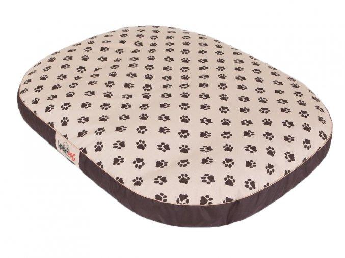 pelech pro velkého psa matrace oval 3