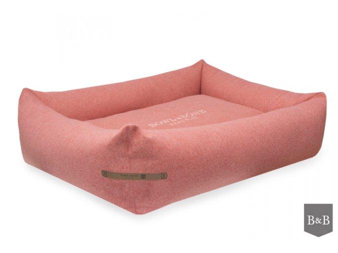 luxusni pelisek pro psa LOFT coral