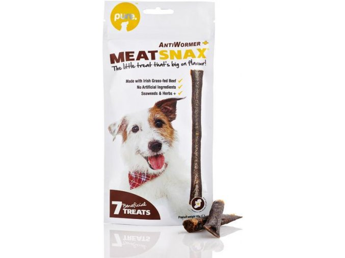 masove pamlsky meatsnax antiwormer 85 g