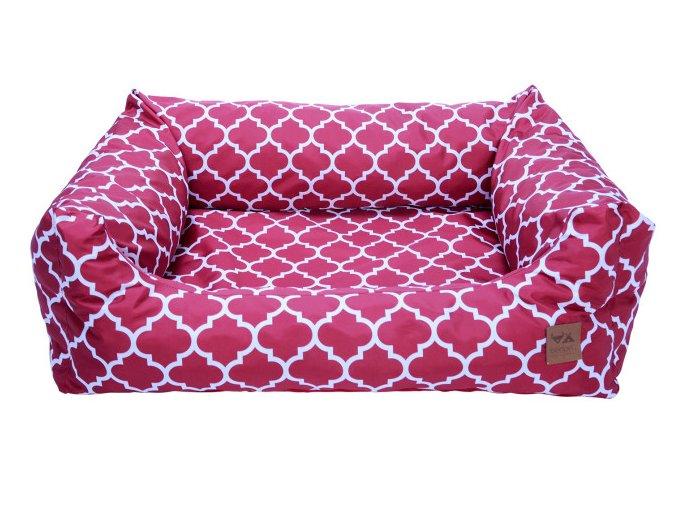 luxusni pelisek pro psa bedpet red marocan