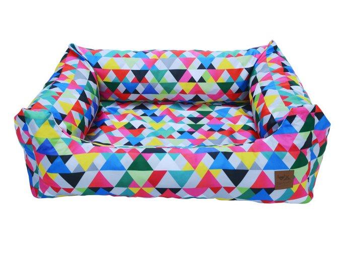 pelisek pro psa geometric color