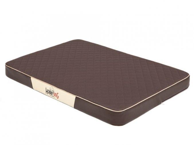 odolna matrace pro psa premium hneda