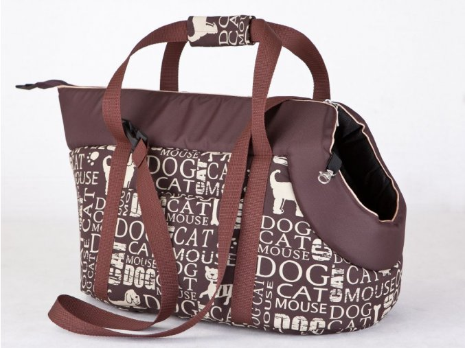 Taška pro psa cestovní - nápisy