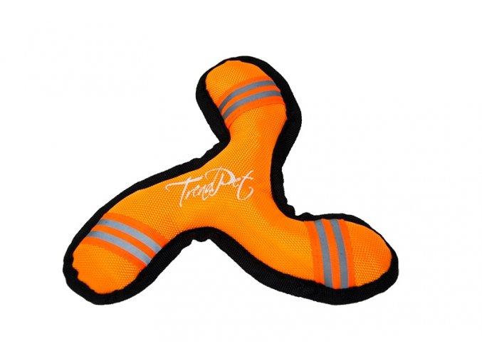 Hračka pro psy Flystar 20 cm oranžová