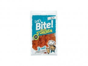 BRIT POCHOUTKA LET'S BITE TWISTER O'CHICKEN 80G NEW