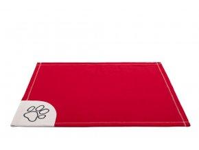 cervena deka pro psa hobby dog