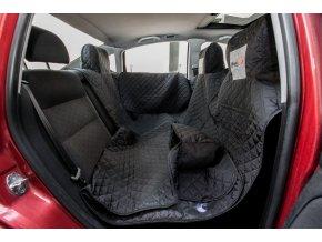 ochranny potah na sedacky do auta cerny HobbyDog