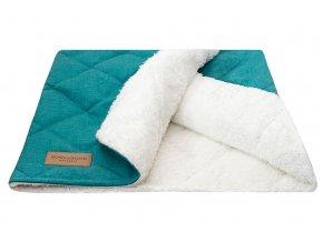 Luxusní pelíšek i deka Dreamy Mint Bowl nad Bone