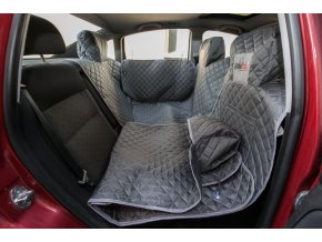 ochranny potah do auta na sedacky sedy Hobby Dog