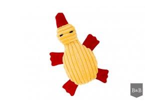 hracka pro psa textilni duck