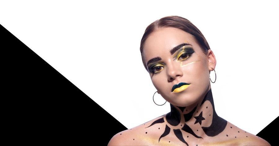 Absolventská práca Make-up artistky ROuMY