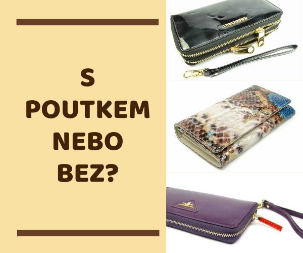 Jak vybrat dámskou peněženku - s poutkem nebo bez?