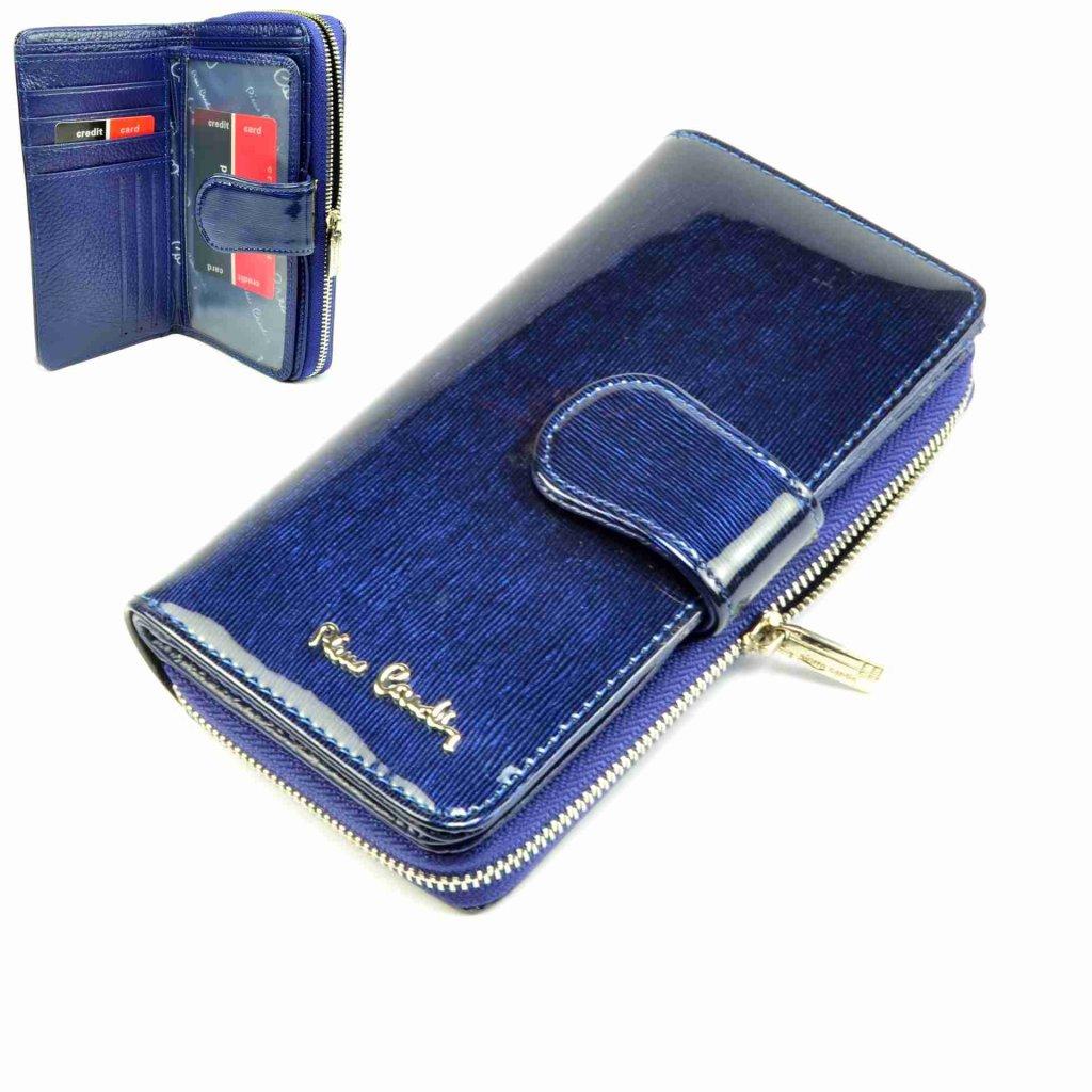 Barevná peněženka kožená dámská