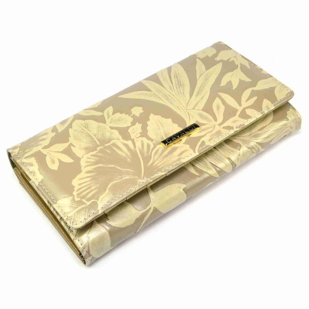 Kožená peněženka dámská hnědá - 2
