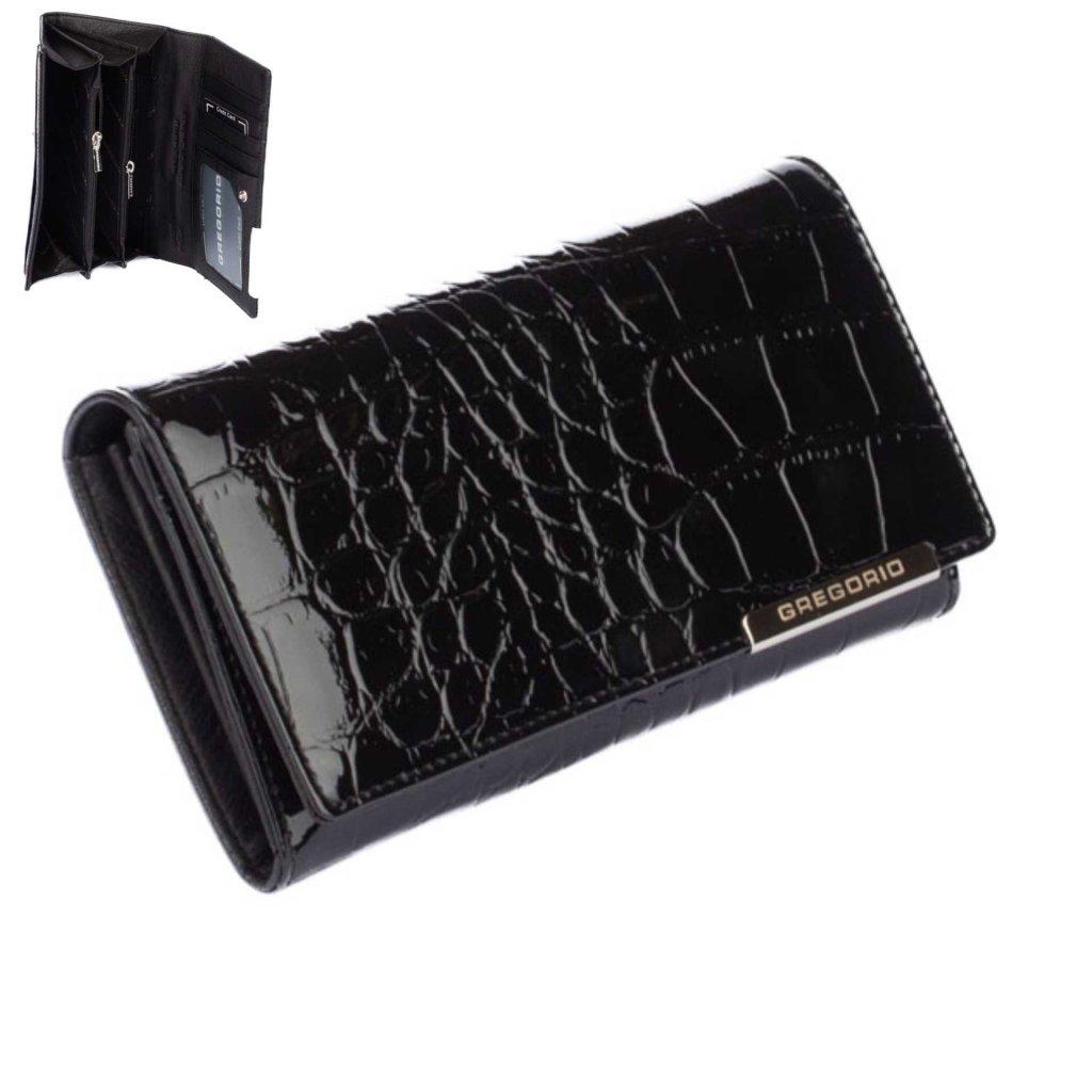 Kožená dámská peněženka