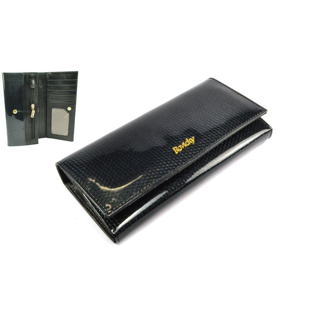 Dámská velká peněženka černá - 1