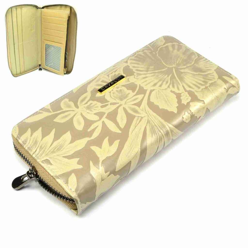 Velká dámská kožená peněženka - 1