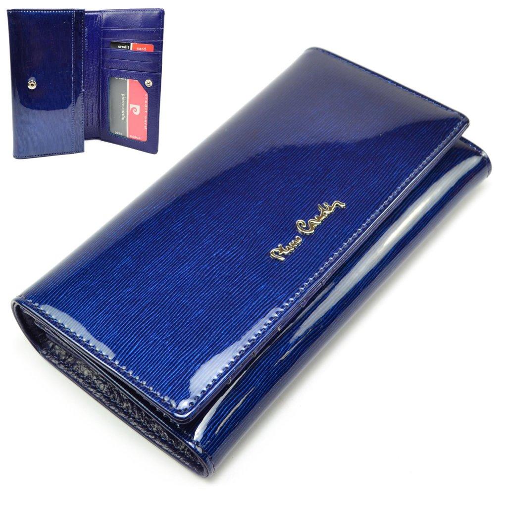 Velká kožená peněženka dámská