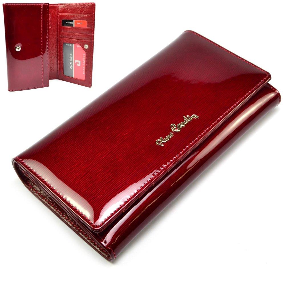 Luxusní kožená peněženka barevná