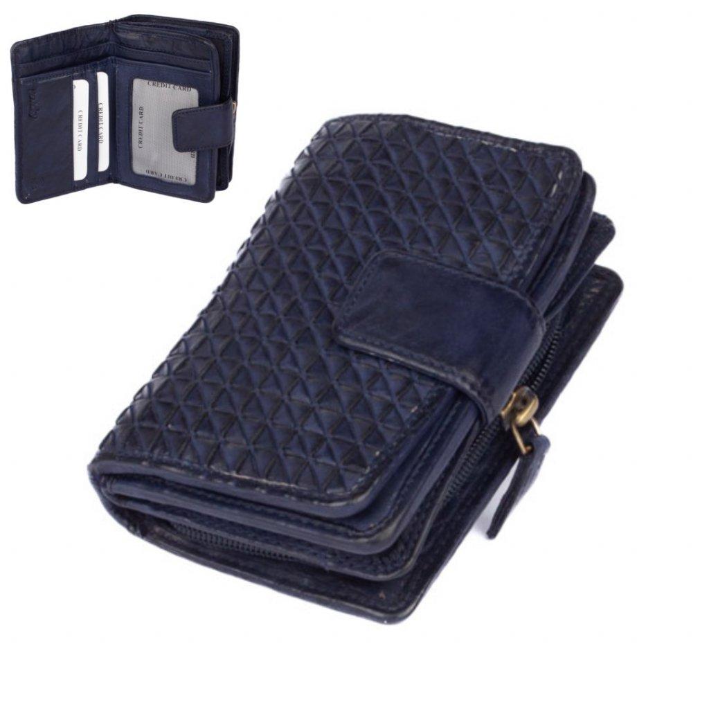 Malá dámská kožená peněženka - 1