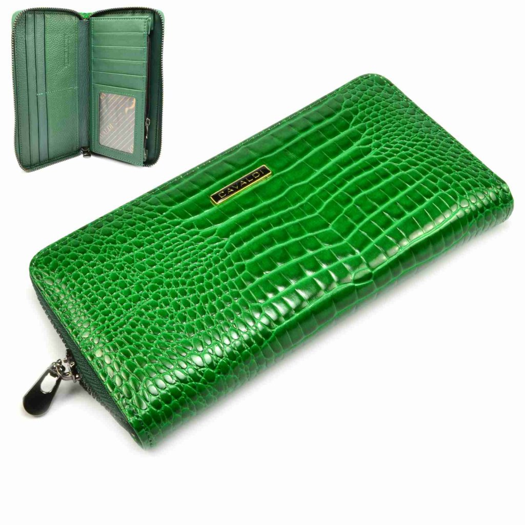 Dámská zelená peněženka