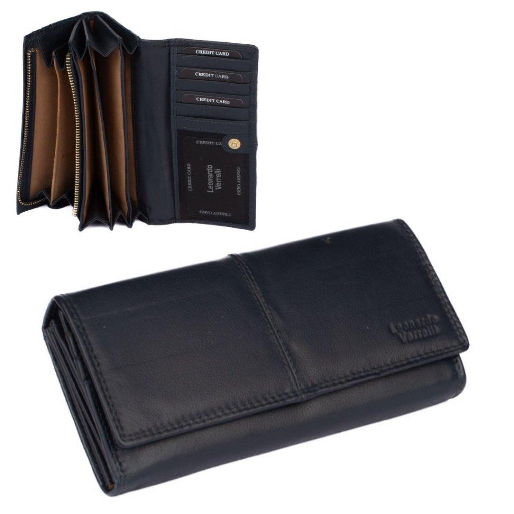 Dámská luxusní kožená peněženka