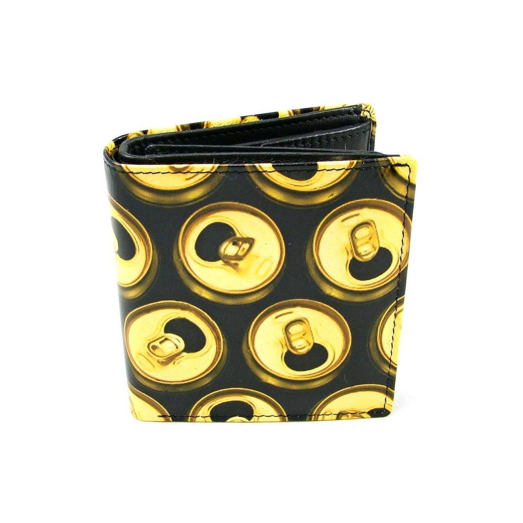 Retro peněženka kožená