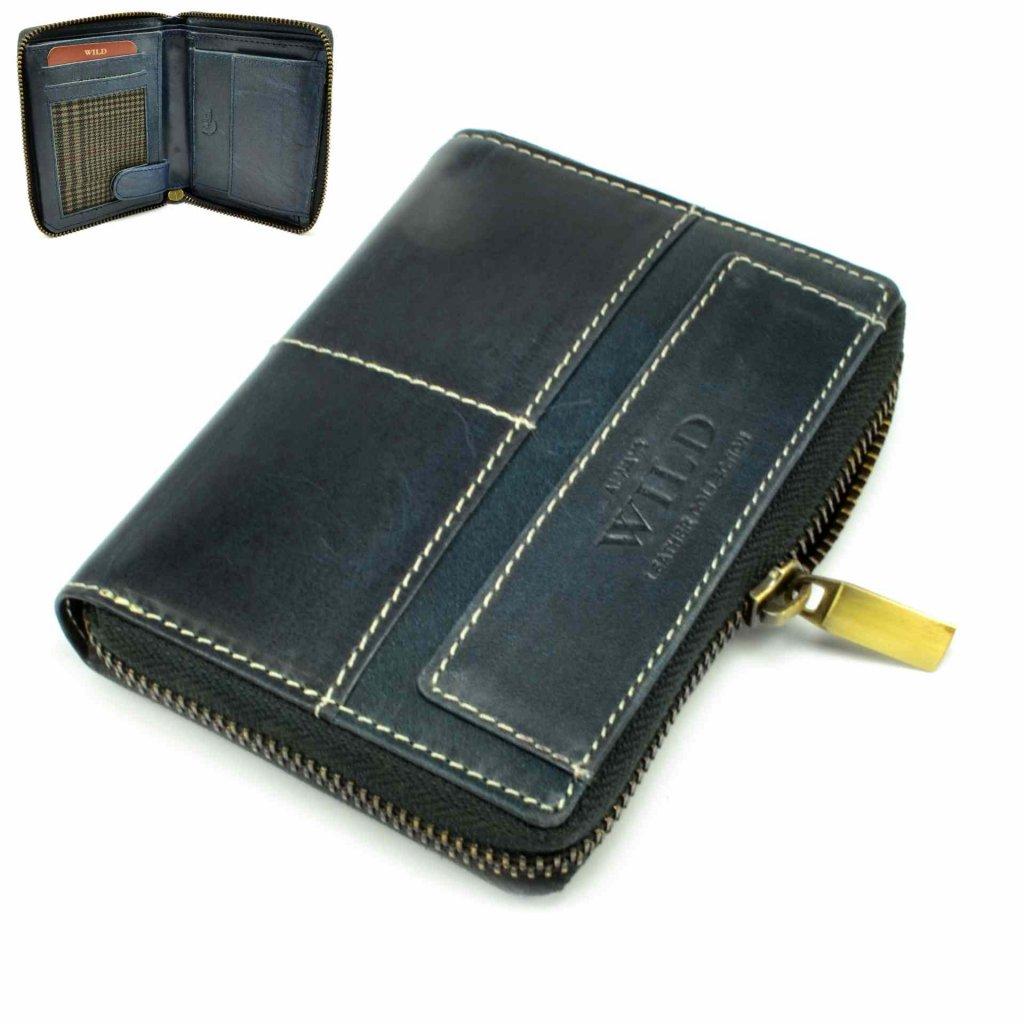 Peněženka retro kožená - 2