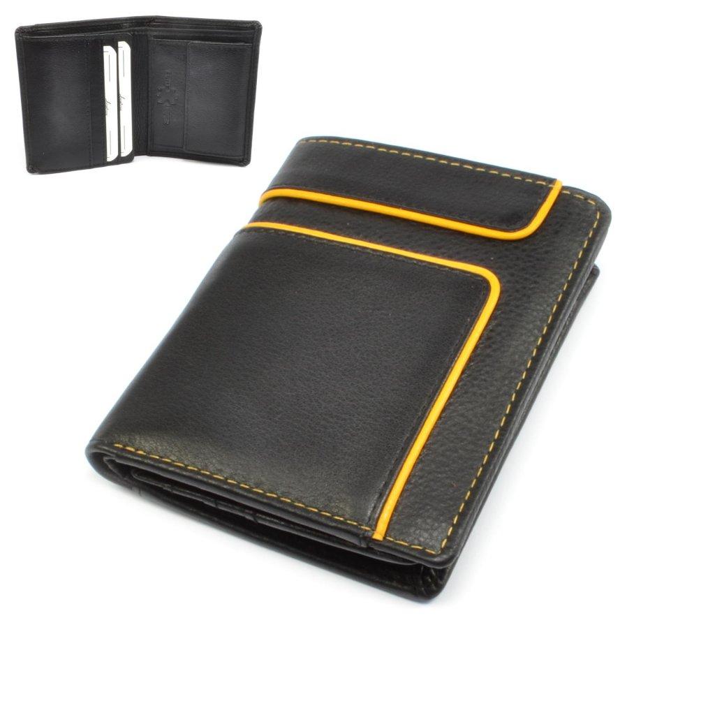Malá kožená retro peněženka