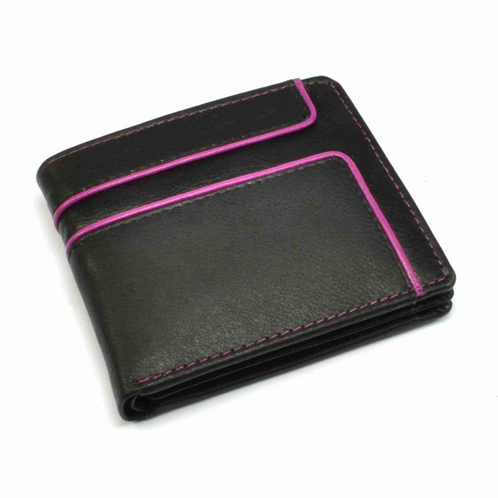 Malá retro kožená peněženka