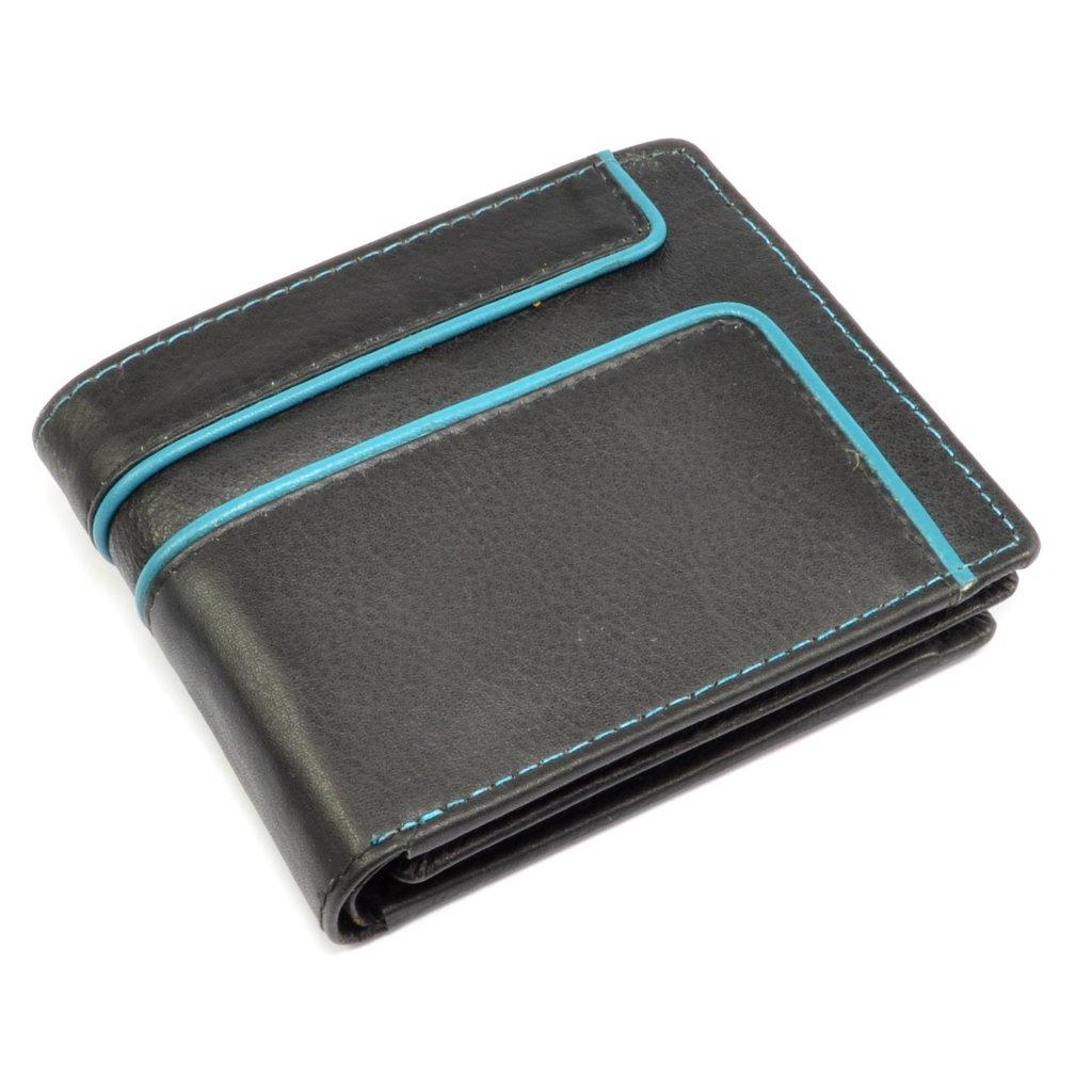 Malá peněženka kožená retro - 2