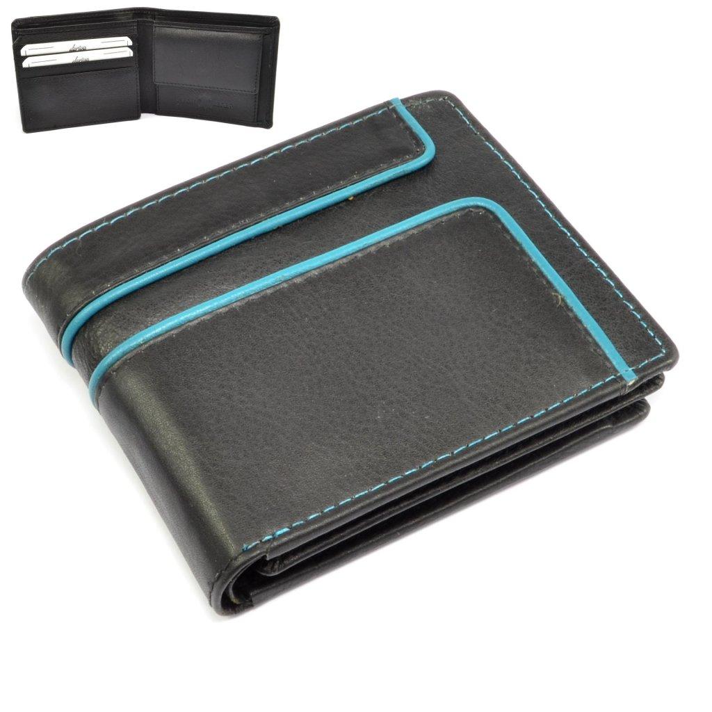Malá peněženka kožená retro