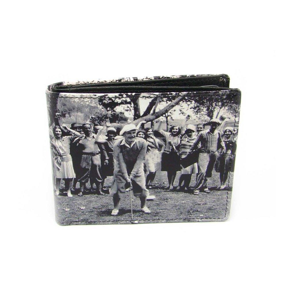 Malá peněženka retro kožená