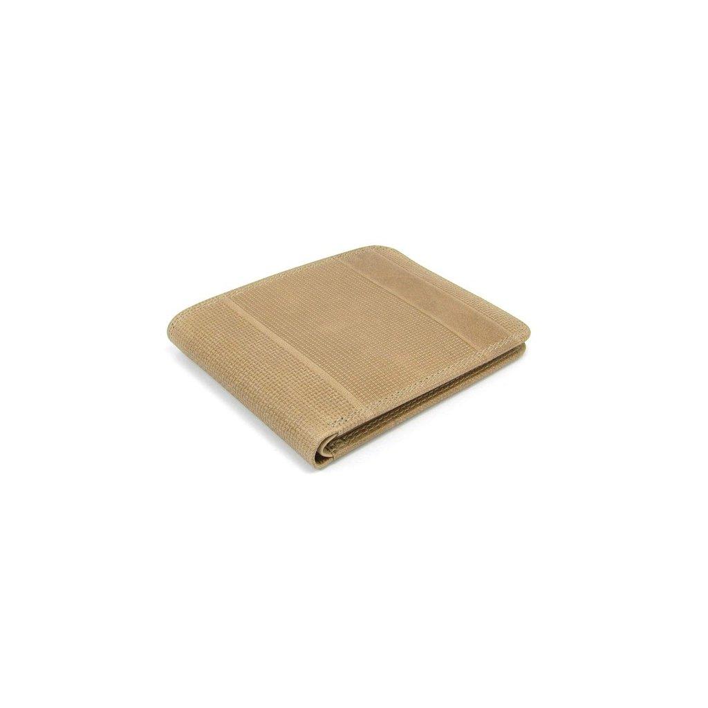 Kožená peněženka pánská hnědá - 2