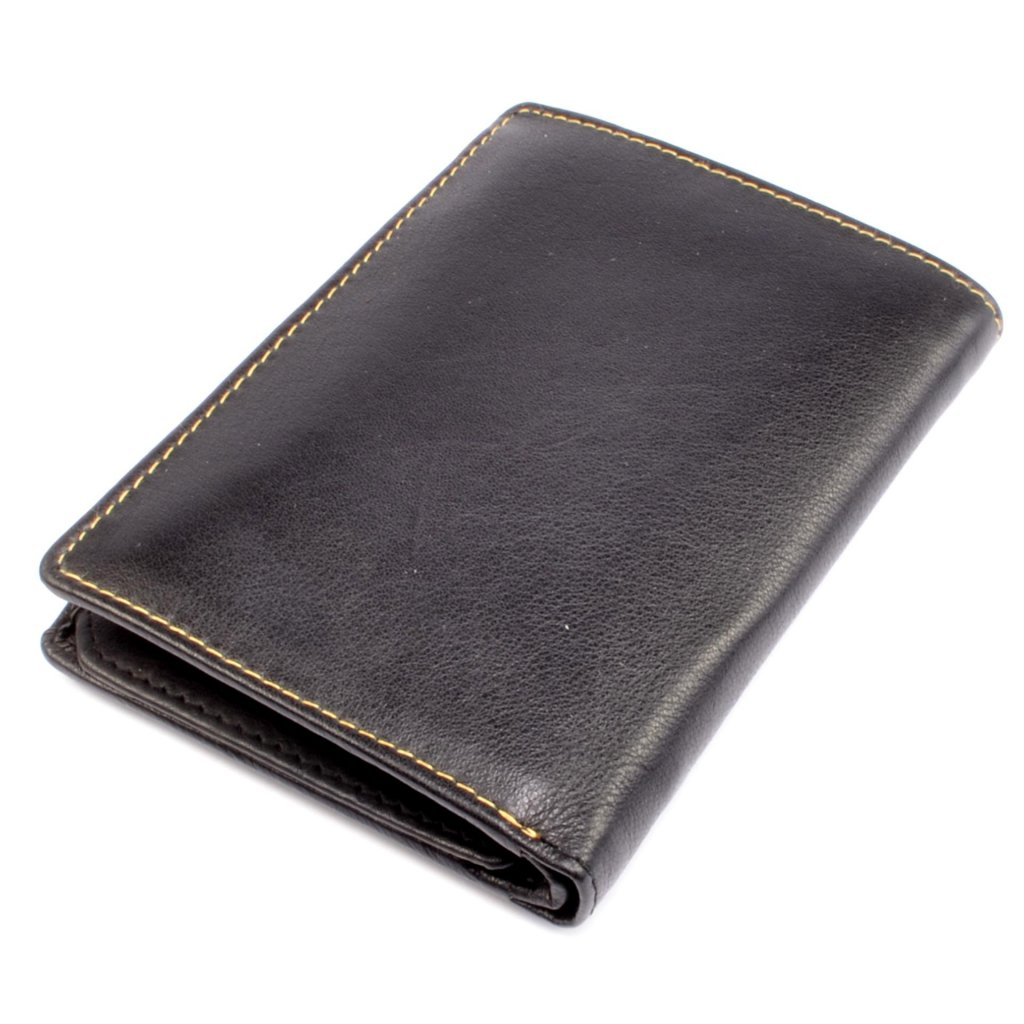 Černá luxusní pánská peněženka - 4