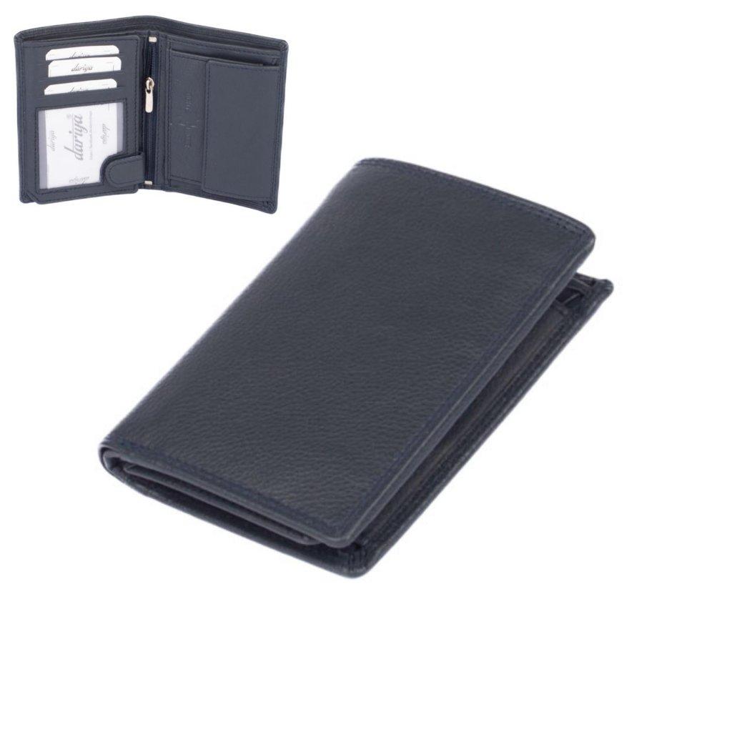 Pánská peněženka kožená modrá - 1