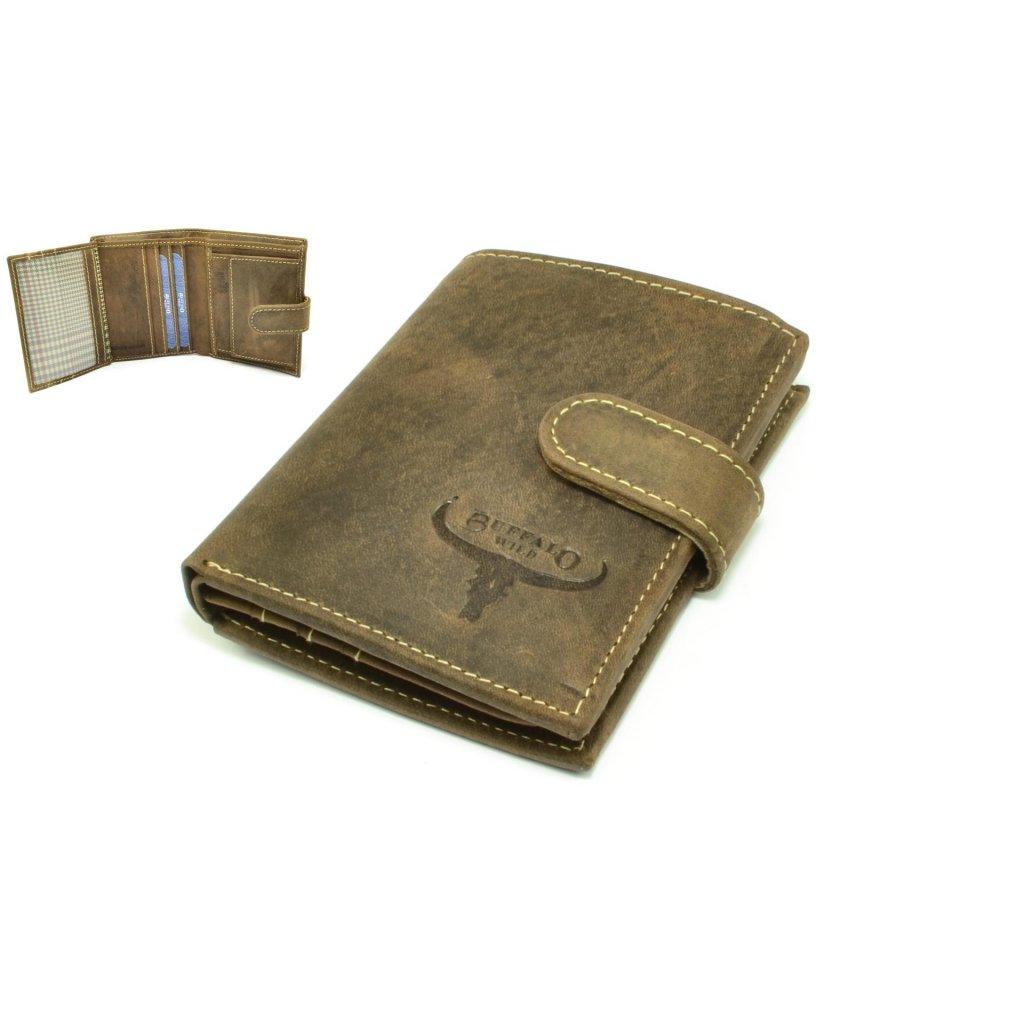 Pánská peněženka kožená v dárkové krabičce