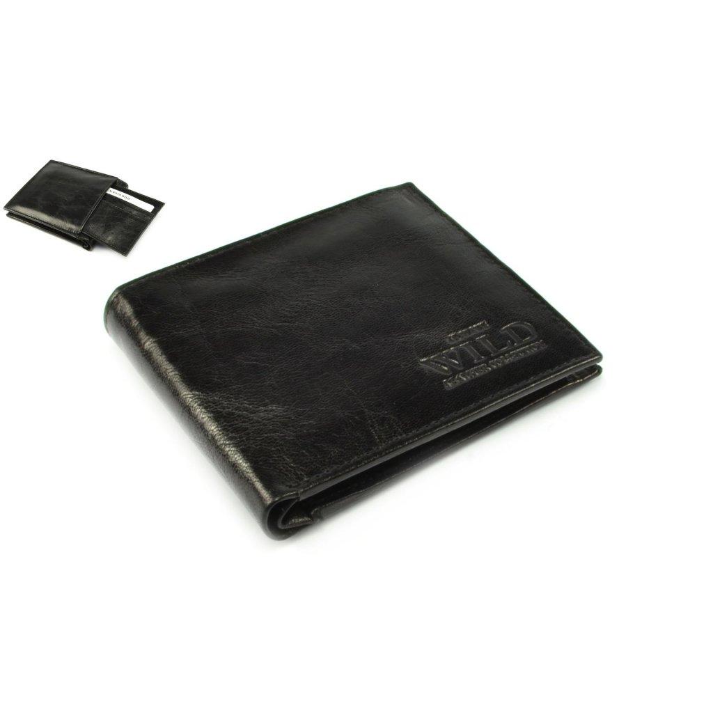 Pánská malá kožená peněženka