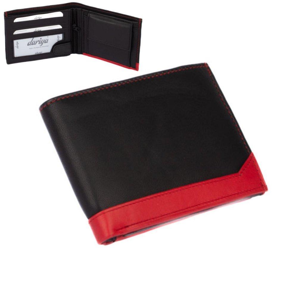 Pánská kožená peněženka barevná