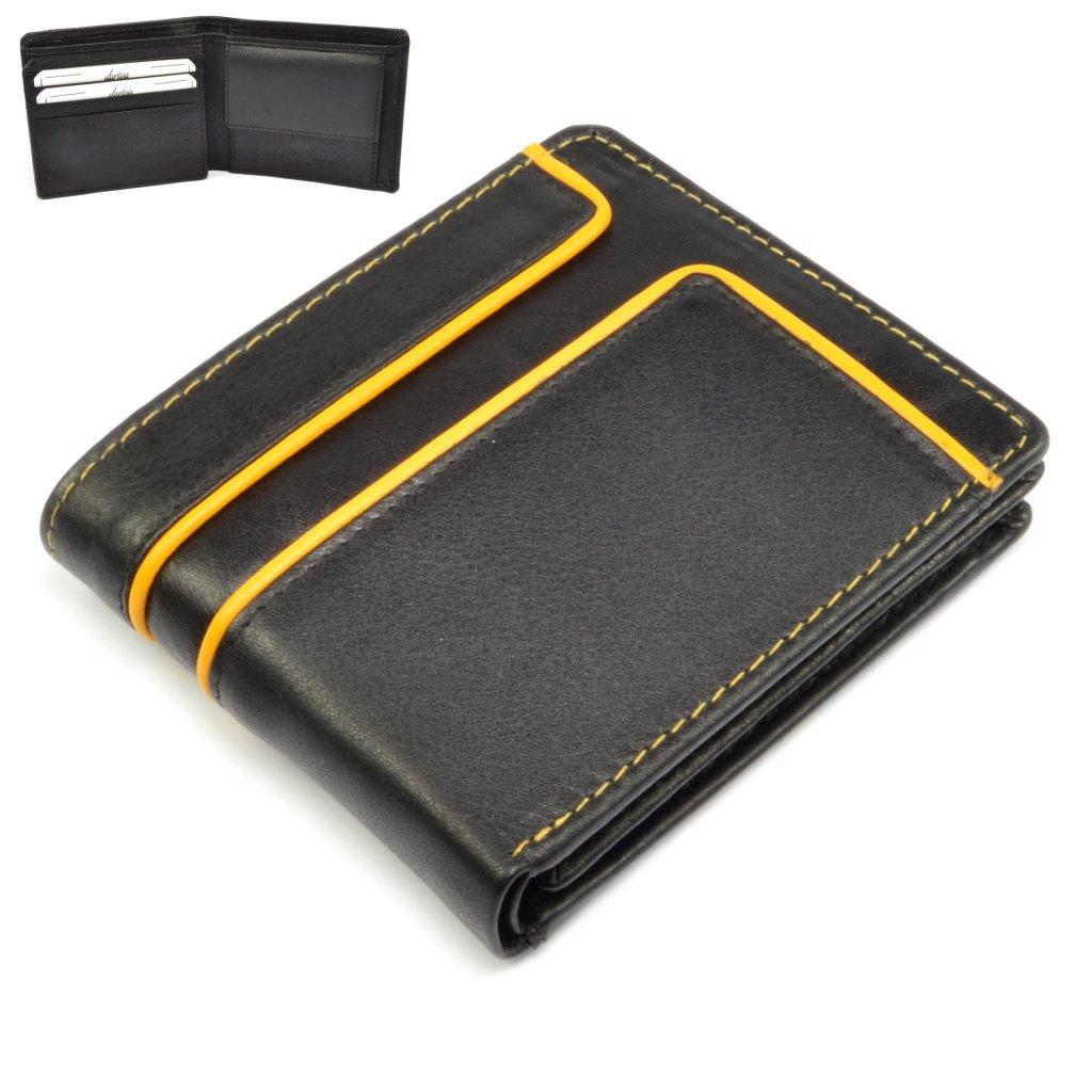 Pánská kožená malá peněženka