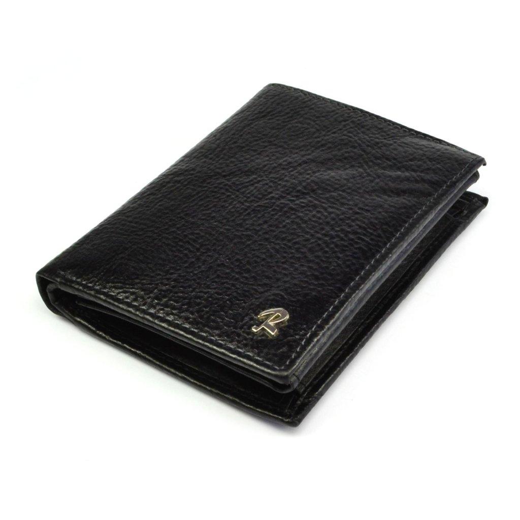 Peněženka pánská kožená černá - 2