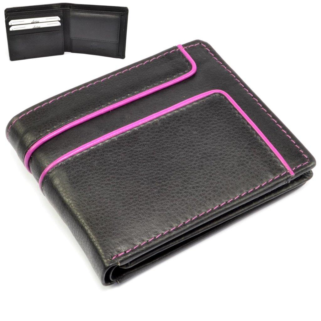 Malá kožená peněženka pánská