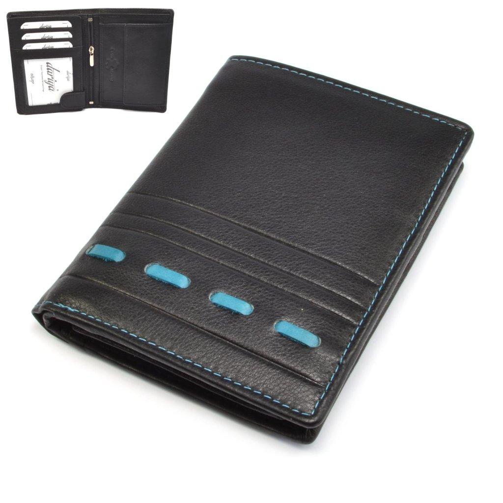 Peněženka kožená moderní pánská - 1